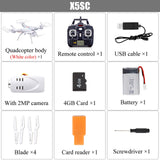 SYMA X5SW RC Drone Wifi Camera Quadcopter Real Time Transmit FPV Headless Mode Dron RC Helicopter Quadrocopter Drones Aircraft - ZURBEXPRESS