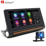 "Junsun 3G Car DVR GPS Camera 6.86""Android dash cam Full HD 1080p Video recorder Wifi Bluetooth registrator Dual lens dvrs Camera - ZURBEXPRESS"