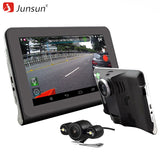 "Junsun 7""Capacitive Car DVR Camera Video Recorder Android 4.4 GPS Navigation WIFI FM Truck gps sat nav 16GB Map Free Update - ZURBEXPRESS"