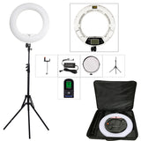 "FE-480II 5500K Photo/Studio/Phone/Video 18"" 96W 480 LED Ring Light LED Lamp+ 200cm tripod +Bag Kit - ZURBEXPRESS"