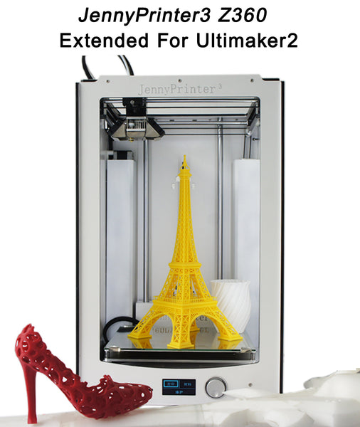 JennyPrinter3 Z360 DIY KIT For UM2 Ultimaker 2+ Extended Auto Leveling 3D Printer - ZURBEXPRESS