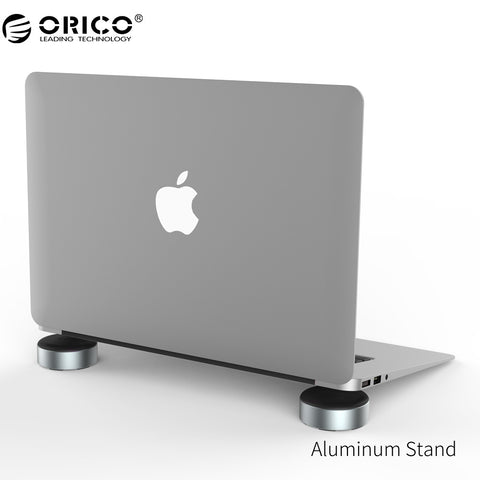ORICO Aluminum Laptop Stand Portable Heat-dissipation Foot pad for Notebook Universal Radiator - ZURBEXPRESS