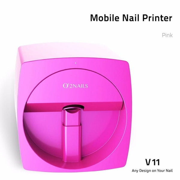 Freeshipping O2NAILS Automatic Nail Painting Easy All-Intelligent 3D Nail Printers Wifi Nail Printer Machine Manicure Equipment - ZURBEXPRESS