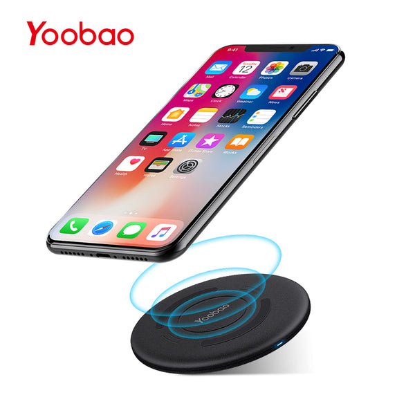 Yoobao D1 Mini Wireless Charger QI Charging Pad Waterproof Mobile Phone Charger for Samsung Edge S7 S7 Edge LG Nokia iPhone 10 8 - ZURBEXPRESS