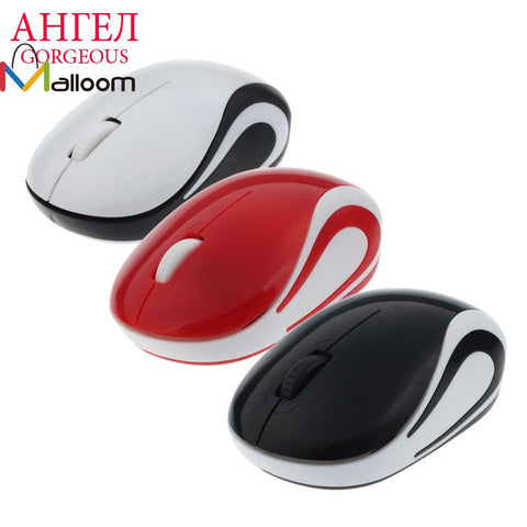 Hot Mini USB 2.4 GHz Wireless Mouse For Laptop Super Slim Optical 2000 DPI Ball Gaming Mouse For Computer Mouse Gamer PC Desktop - ZURBEXPRESS