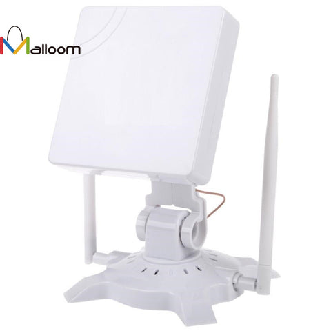 2.4 GHz 2.5KM High Gain Outdoor Waterproof 150M USB Wireless Wifi Adapter IEEE802.11G/B/N Stand Holder CD driver Gift #201 - ZURBEXPRESS