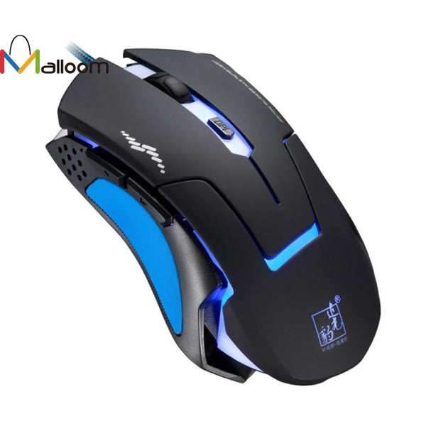 Malloom 2016 High Quality  hot selling Professional 6D 3200DPI LED Optical Wired Gaming Mouse for Pro Gamer #LR17 - ZURBEXPRESS