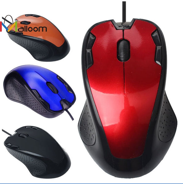 Malloom 2016 Wireless Computer Mouse Keyboard Luxury 1800 Dpi Usb Wired Optical Gaming Mouse Notebook Mice Gamer for Pc Laptop - ZURBEXPRESS