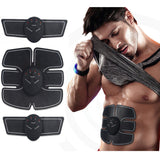 EMS Wireless Muscle Stimulator Smart Fitness Abdominal Training Device Electric Weight Loss Stickers Body Slimming Belt Unisex - ZURBEXPRESS