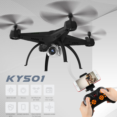 Big Size Rc Drones With Camera Selfie Drone Fpv Quadcopter Shatter Resistant Rc Helicopter Toys For Children Vs Syma X5sw X5hw - ZURBEXPRESS