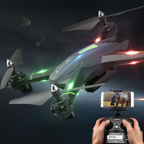 Super Drone RC Drone S5 RC Helicopter Drone Quadcopter 2.4GHz 4CH 6 Axis 2MP HD Camera RTF Remote Control Professional Dron Toys - ZURBEXPRESS