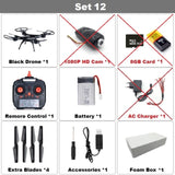 Teeggi M5A RC Drone With 5MP 1080P HD Camera 6-Axis Remote Control Toys Helicopter Quadcopter Profissional Dron VS SYMA X5C X5HW - ZURBEXPRESS