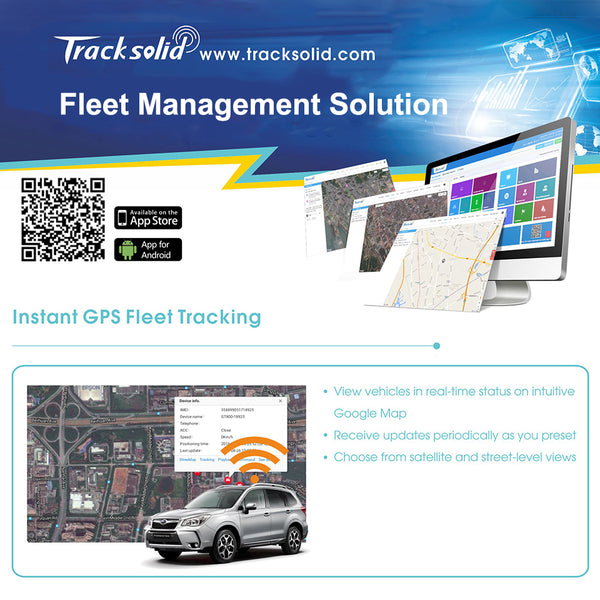 Concox Profesional GPS Tracking Software Tracksolid With Instant GPS Fleet tracking ,Review History,Geofences,Insightful Reports - ZURBEXPRESS
