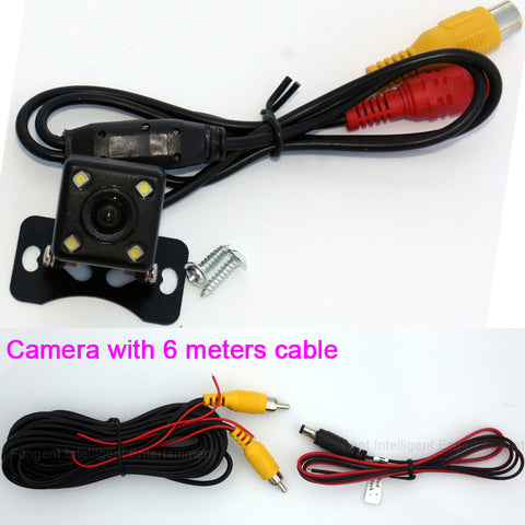 2.4 Ghz Wireless Rear View Camera RCA Video Transmitter Kit back up parking Reverse camera for Vehicle GPS Moniter DVD Player - ZURBEXPRESS