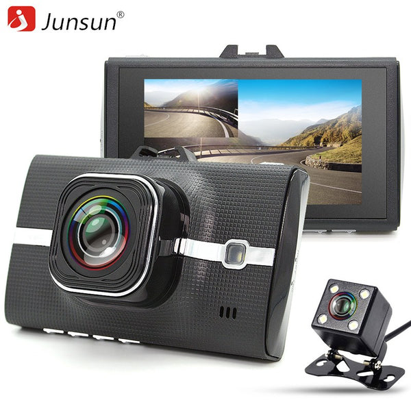 Junsun Full HD 1080P Car DVR Camera Dual Lens Video Recorder With ADAS/LDWS Parking Monitor Registrar Night Vision Dashcam - ZURBEXPRESS