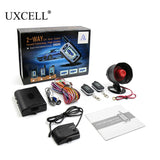 UXCELL 2 Way Car Alarm Vehicle Security System Pager LCD Remote Control Keyless Entry - ZURBEXPRESS