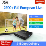 X96 Sweden IPTV Box Android 6.0 IUDTV IPTV Germany Italy UK Spain Greece Albania Scandinavia - ZURBEXPRESS