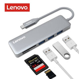 Lenovo 5-in-1 Ultra Slim Aluminium USB - ZURBEXPRESS