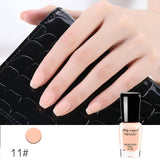 Lily angel 1PCS 6ML 48 Colors Choose Nail Polish Quick Dry Peel Off Liquid Nail Art Polish Easy Clean Nail Enamel - ZURBEXPRESS
