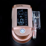 Digital  Rose Gold  Intelligent Permanent Makeup 10-speed Panel control Rotary Machine Kit+20pcs Needle - ZURBEXPRESS