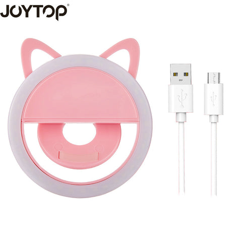 USB charge Selfie Ring Light Portable Flash Led Camera Phone Photography Enhancing Photography for Smartphone iPhone Samsung
