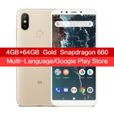 "Global Version Xiaomi Mi A2 4GB 64GB Smartphone 20.0MP AI Dual Camera 5.99"" 18:9 Full Screen Snapdragon 660 Octa Core Metal Body - ZURBEXPRESS"