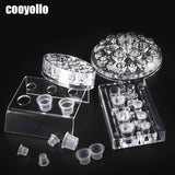 4 Types Acrylic Tattoo Ink Cup Stand Holder Permanent Makeup  Microblading Pigment Storage Caps Tattoo Gun Rack Container Supply - ZURBEXPRESS