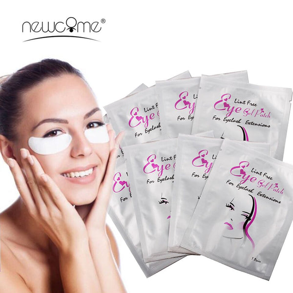 High Quality under Eye Pads Lash Eyelashes Extension Paper Patches Eye Tips Sticker Wraps Makeup Tools Cheap Under Eye Pads - ZURBEXPRESS