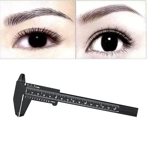 1PC Microblading Reusable Makeup Measure Eyebrow Guide Ruler Permanent Tools  F824 - ZURBEXPRESS