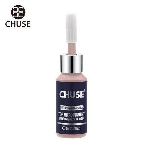 CHUSE Universal Corrector T401 Permanent Makeup Ink Lips Tattoo Ink Set Eyebrow Microblading Pigment Professional 12ML 0.4oz - ZURBEXPRESS