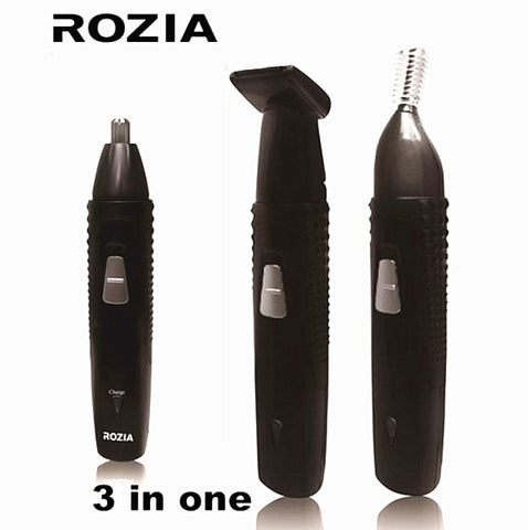 brand Rechargeable nose trimmer hair removal face ear trimer for men beard trimmer eyebrow waterproof trimmer for nose and ears - ZURBEXPRESS