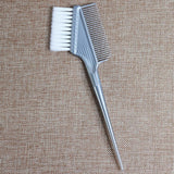 1pcs Women Updo Big Tooth Comb Hair Dyeing Tool Salon Professional Fish Bone Shape Comb Hair Dyeing Sectioning Highlighting Comb - ZURBEXPRESS