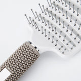 Professional Massage Comb Anti-static Hair Comb Hairbrush Wet Curly Hair Brush Hairdressing Styling Tools 25.5*7.5CM