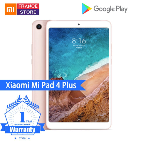 "Original Xiaomi Mi Pad 4 Plus PC Tablet 10.1"" Snapdragon 660 Octa Core Face ID 1920x1200 13.0MP+5.0MP 4G Tablets Android MiPad 4 - ZURBEXPRESS"