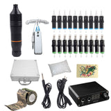 Professional Tattoo Rotary Pen Tattoo Kit Machine Mini Power  Set Tattoo Studio Supplies