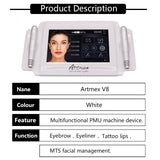 MTS lightening stain / whitening / wrinkle / tattoo pen Artmex V8 digital electric tattoo machine