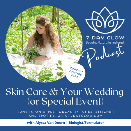 Skin Care and Your Wedding (or Special Event), Episode 208