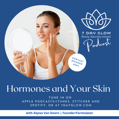 7 Day Glow Podcast Hormones and Your Skin