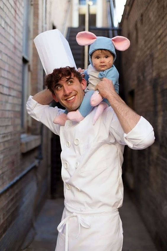 Our Favorite Halloween Costumes for Dad & Baby!