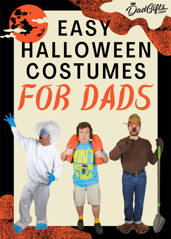 Easy Halloween Costumes for Dads