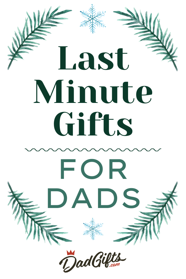 Last Minute Holiday Gifts for Dads