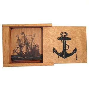 Nautical Coaster Box Set