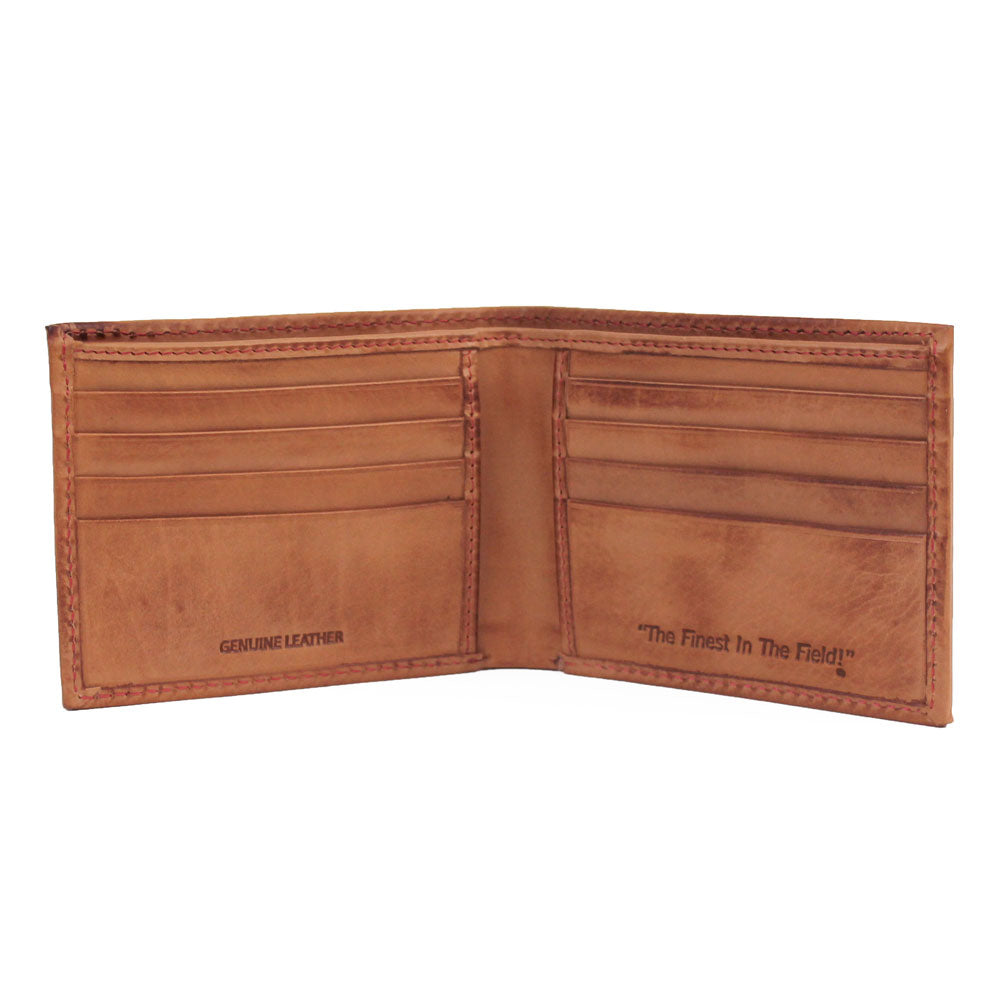 Baseball Stitch Bifold Wallet