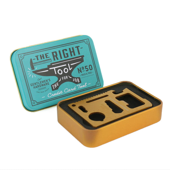 Brass Credit Card Tool