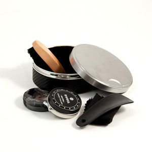 Stainless Steel Shoe Shine Set