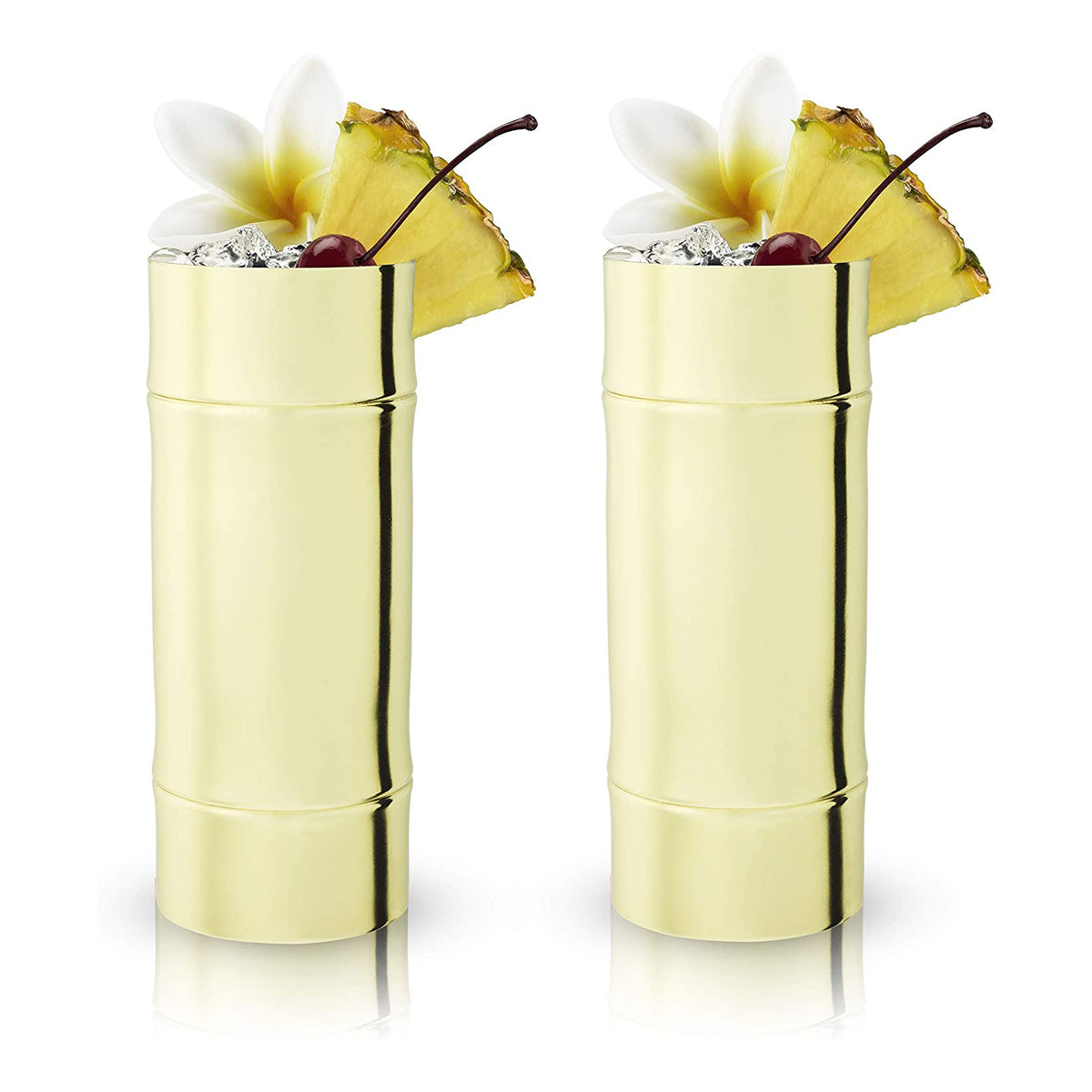 Bamboo Highball Glasses