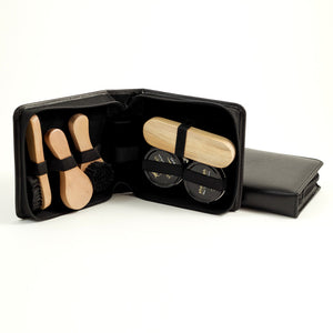 Leather Shoe Shine Kit