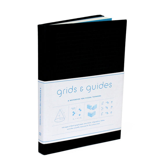 Grids & Guides: A Notebook for Visual Thinkers (Black)
