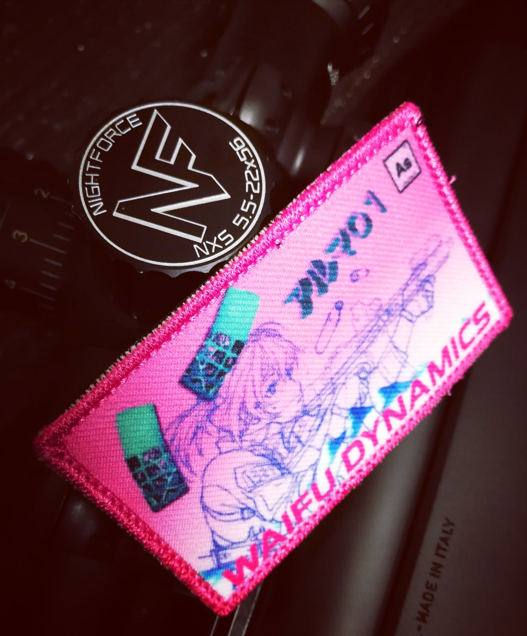 Vaporwave Operator Patch