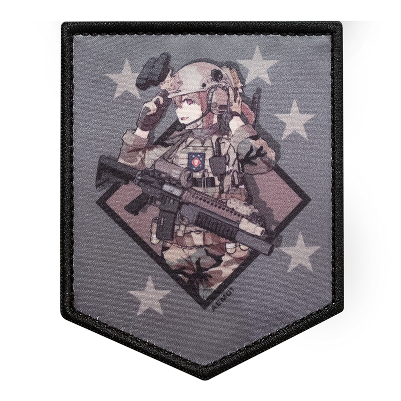 MARSOC-Chan Military colors Patch